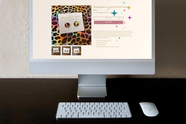 Sharkie & Bear Website Animation